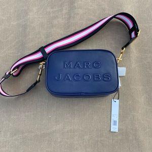 Marc Jacobs Crossbody Leather Indigo Bag